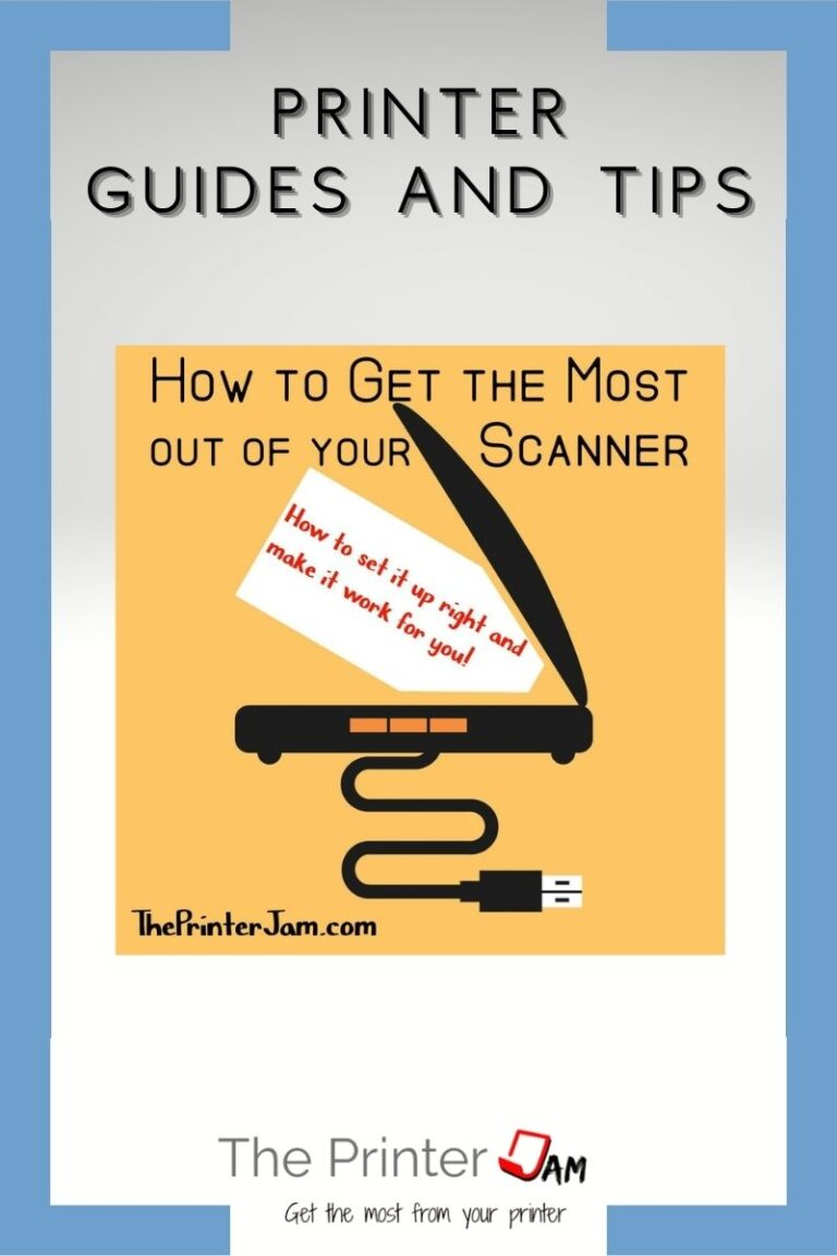 Getting the Most from your Scanner
