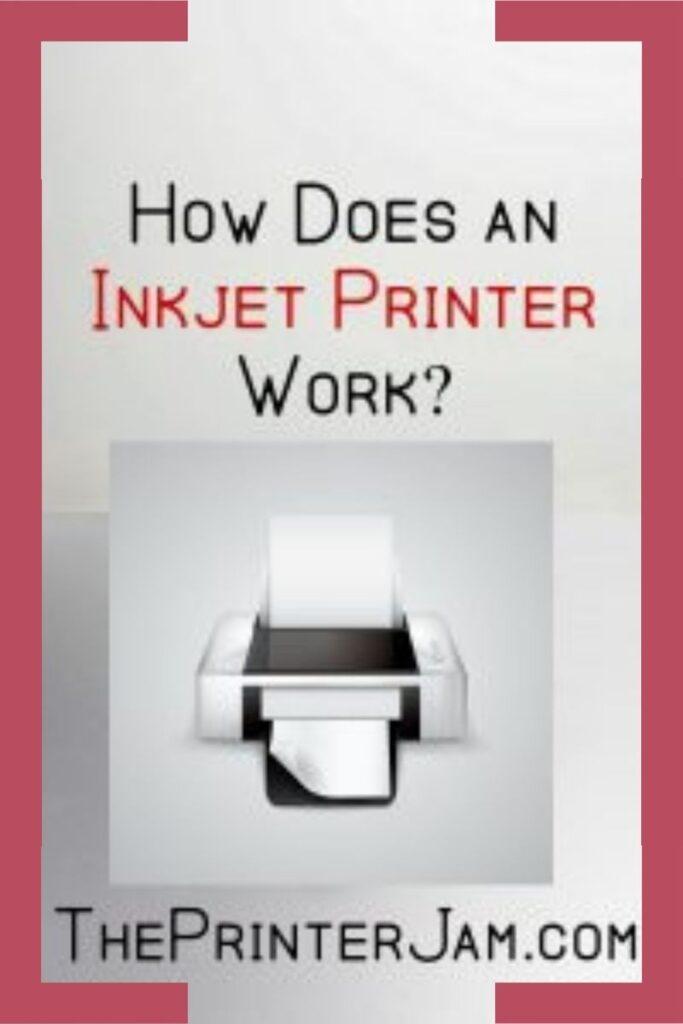 Inkjet Printer Works