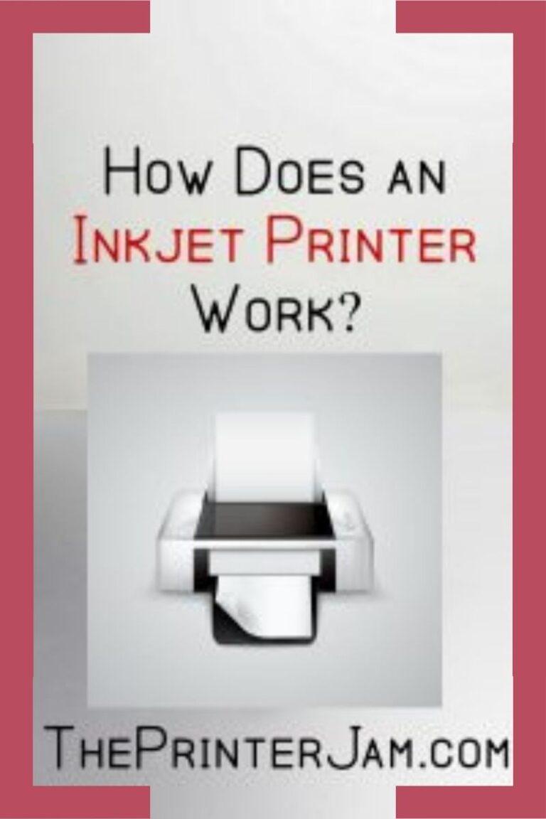 How Does An Inkjet Printer Work?