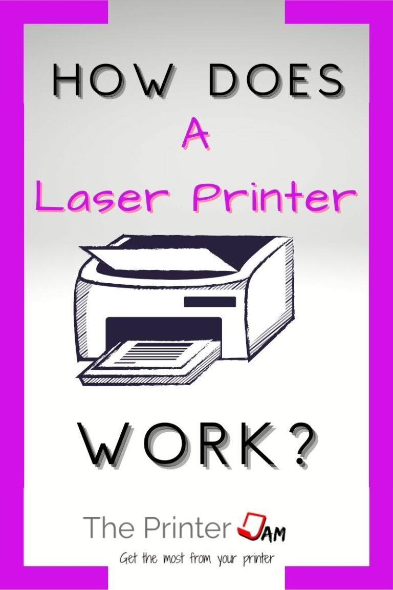 How Does a Laser Printer Work?