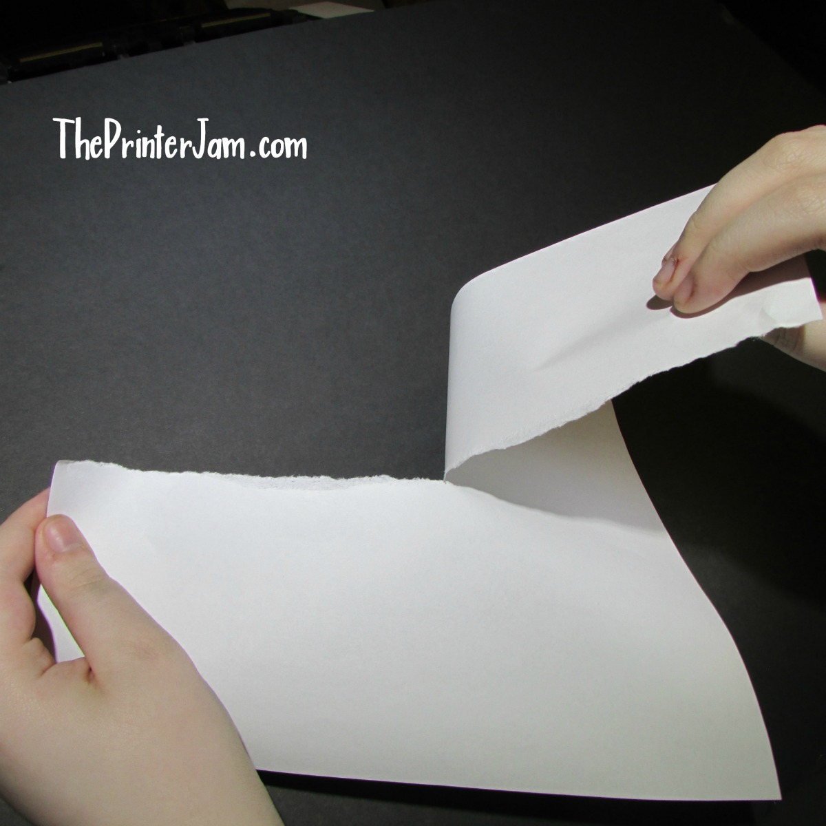 clear paper jam