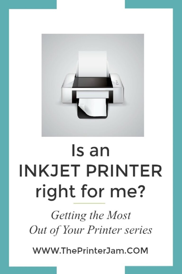 Is an Inkjet Printer Right for Me?
