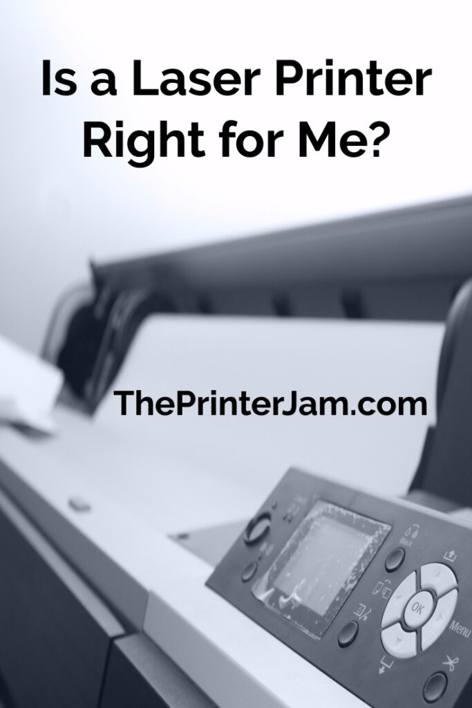 How to choose the best printer for you | laser printer | how a laser printer works | printing | is a laser printer right for you?