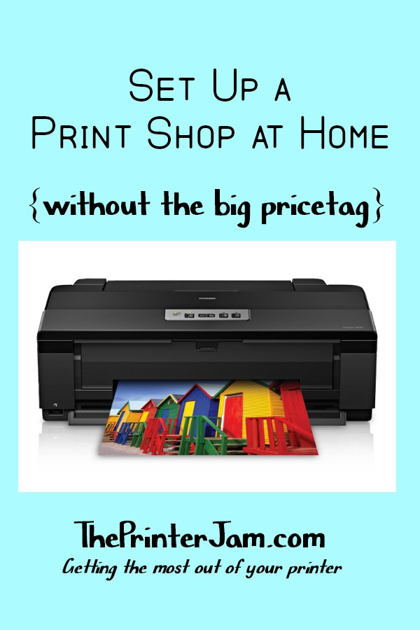 Have a Print Shop at Home with the Versatile Epson Artisan 1430 Photo Inkjet Printer