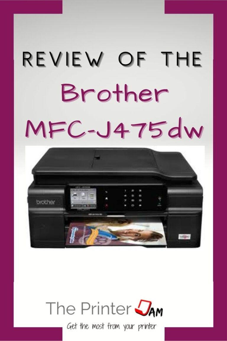 Review of the Brother MFC-J475dw All-in-one
