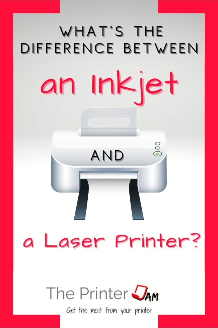 difference laser inkjet
