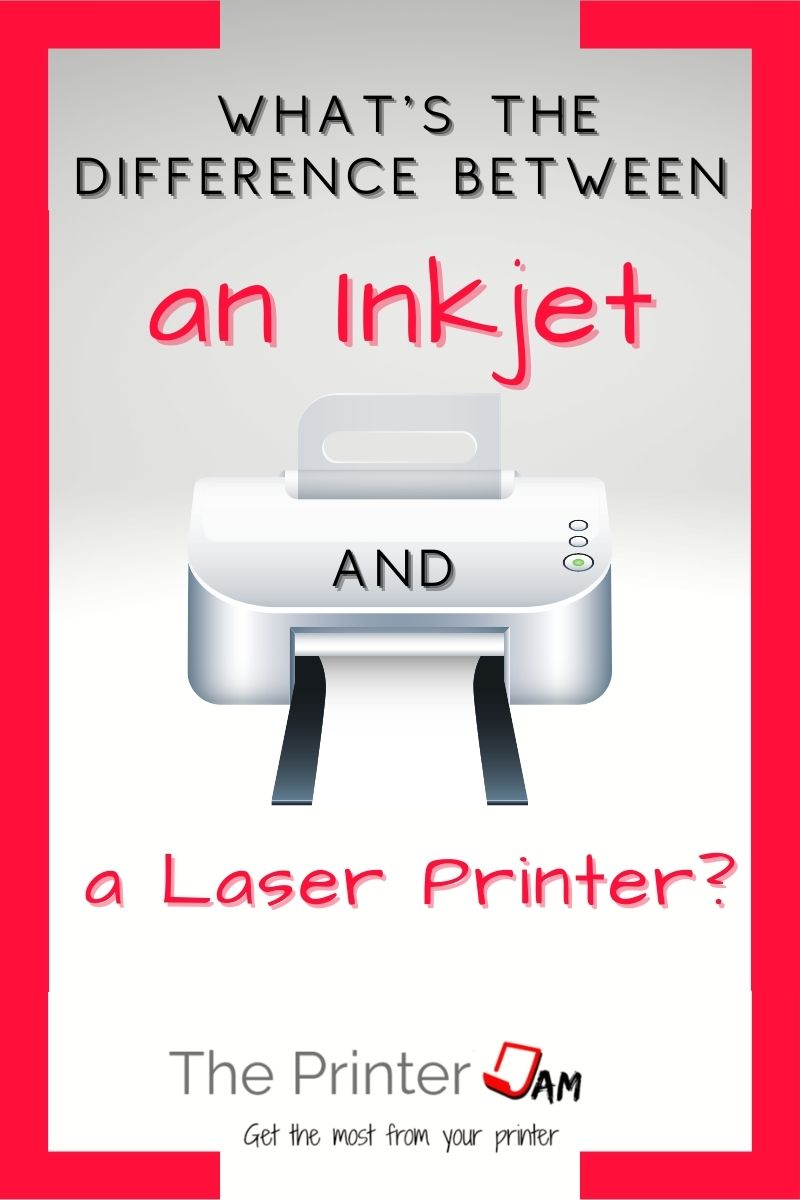 difference laser inkjet