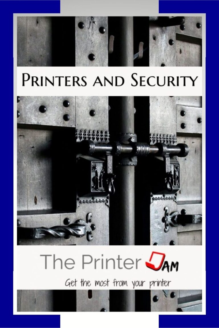 Printers and Security