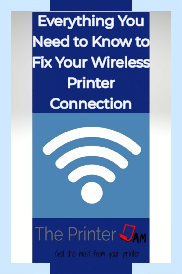 How to Fix Your Wireless Printer Communications