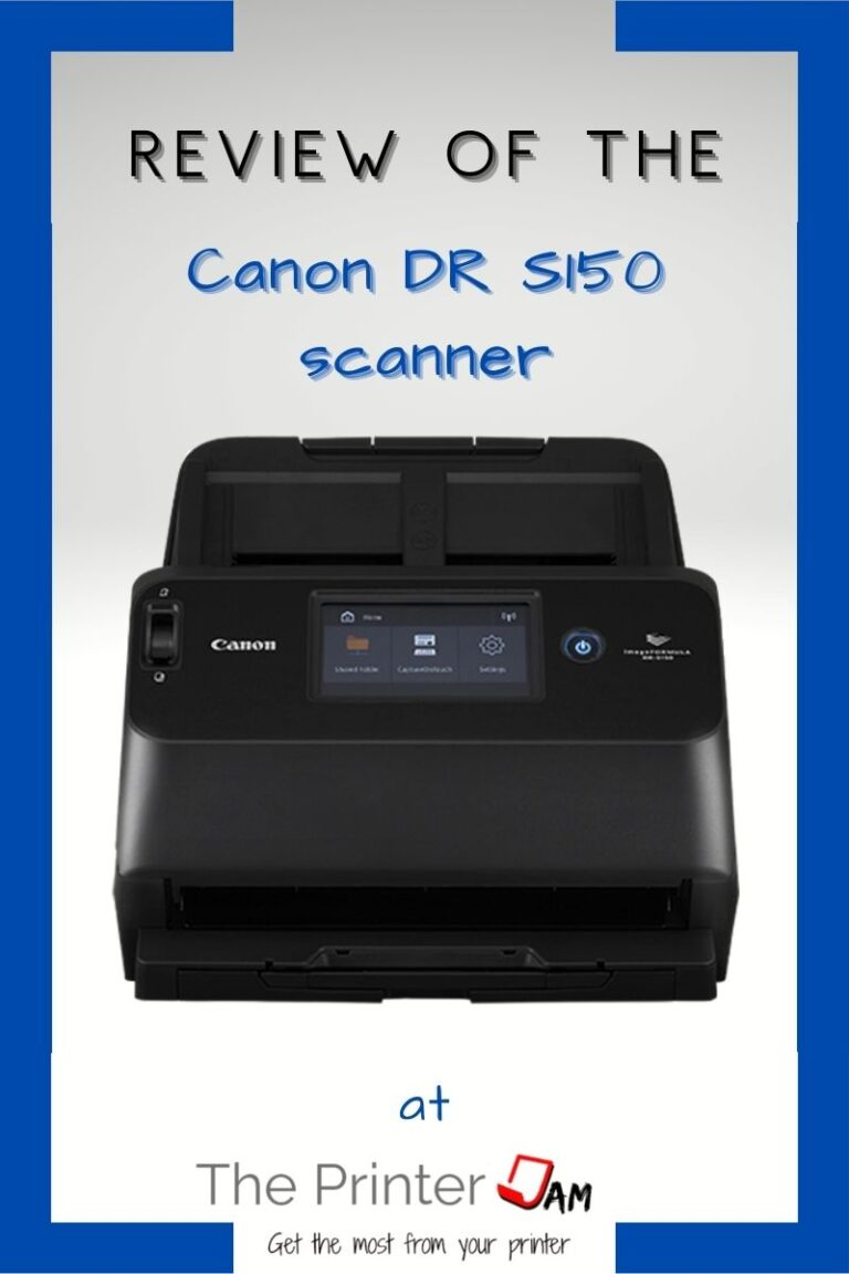 Canon imageFORMULA DR-S150 Scanner Review