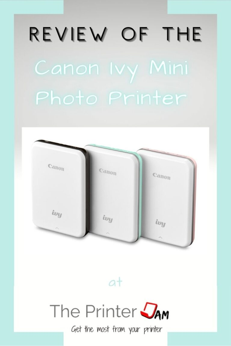 Canon Ivy Mini Photo Printer review