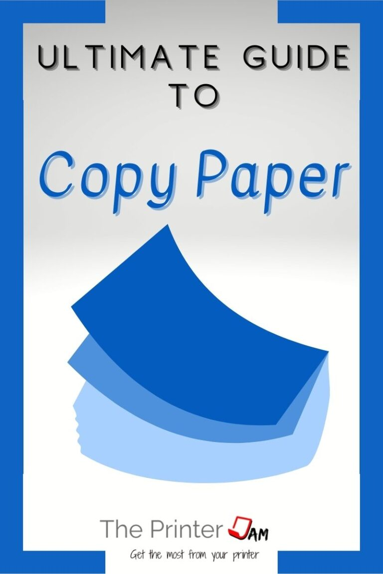 Ultimate Guide to Copy Paper