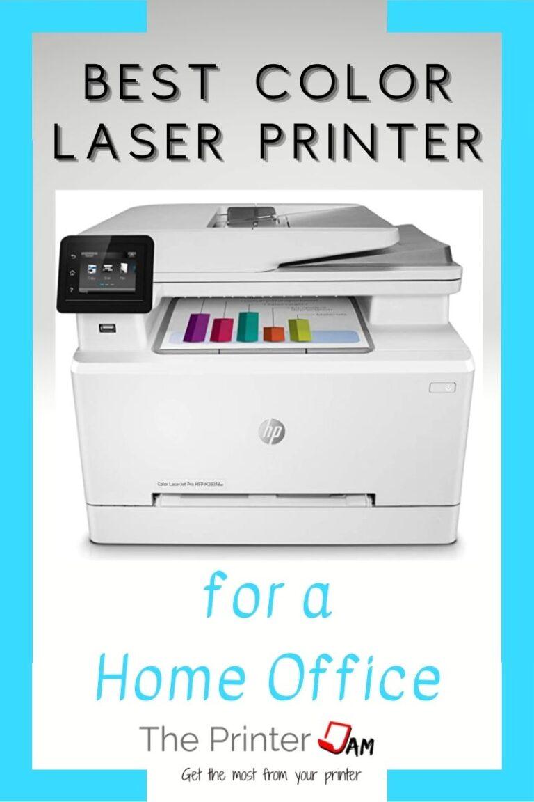 Best Color Laser Printer for a Home Office