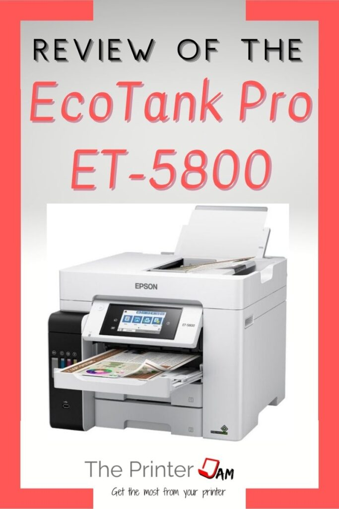 EcoTank pro ET-5800