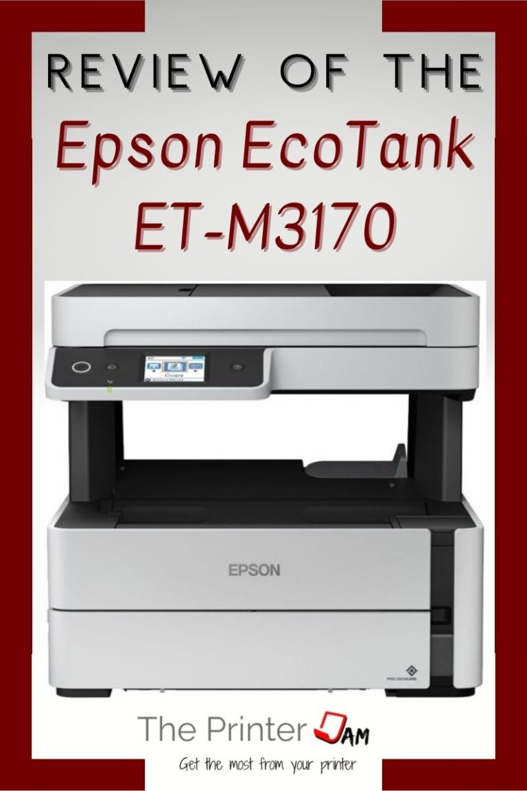 Epson EcoTank ET-M3170 Review