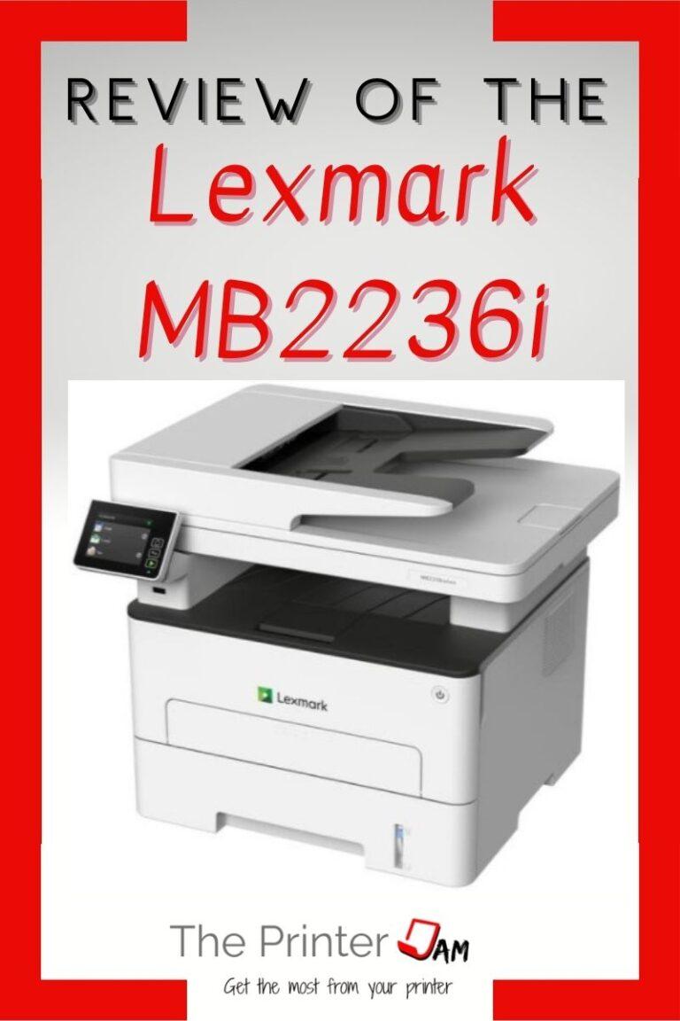Lexmark MB2236i Review