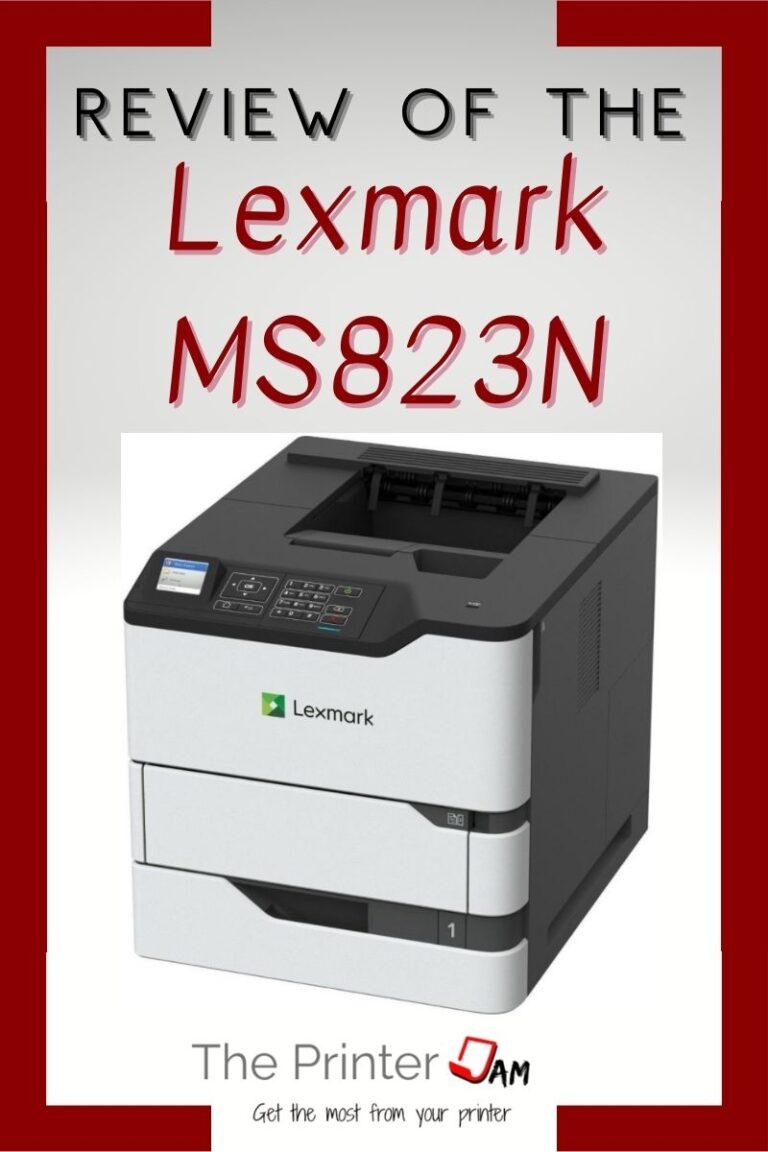 Lexmark MS823N Review