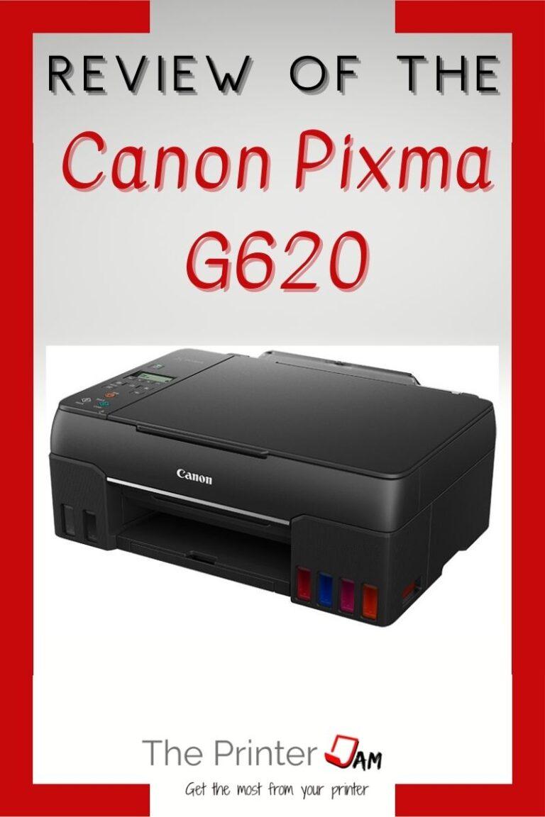 Canon PIXMA G620 Review