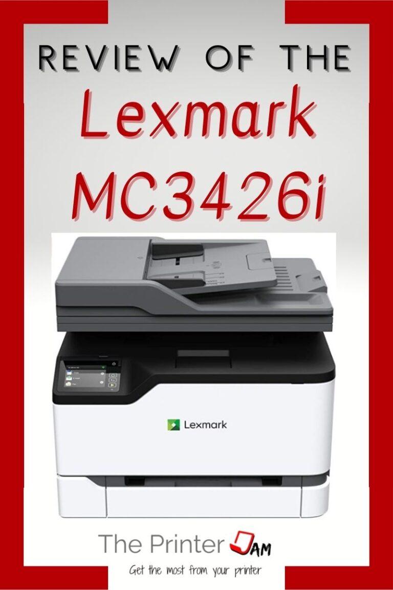 Lexmark MC3426i Review