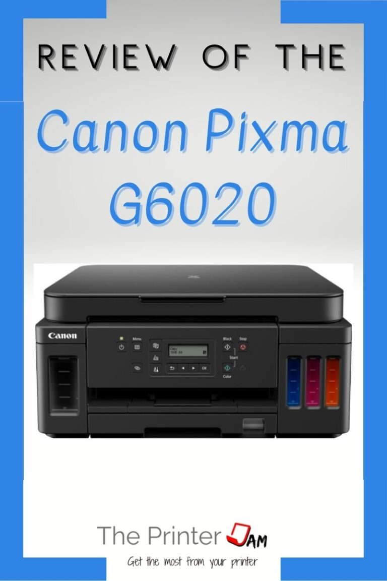 Canon Pixma G6020 Review