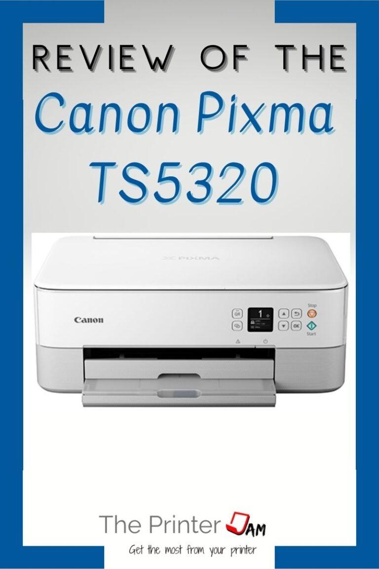 Canon Pixma TS5320 Review