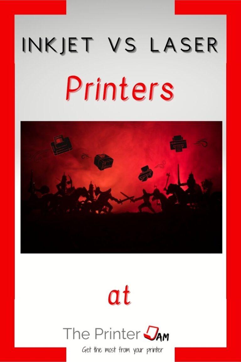 Inkjet vs Laser Printers: Which is Better?