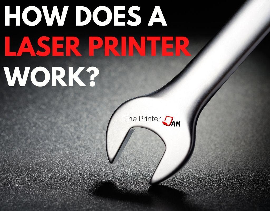 Laser printer work